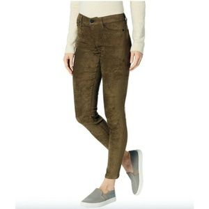 Liverpool Abby Faux Suede Skinny Jeans Pants 8/29